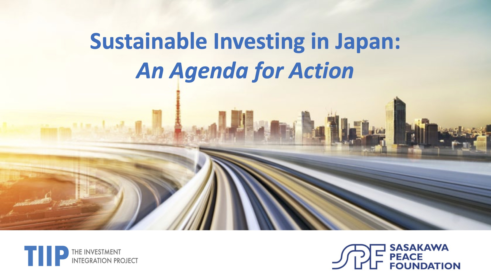 「Sustainable Investing in Japan:An Agenda for Action」(社会的インパクト投資フォーラム プレゼンテーション資料)