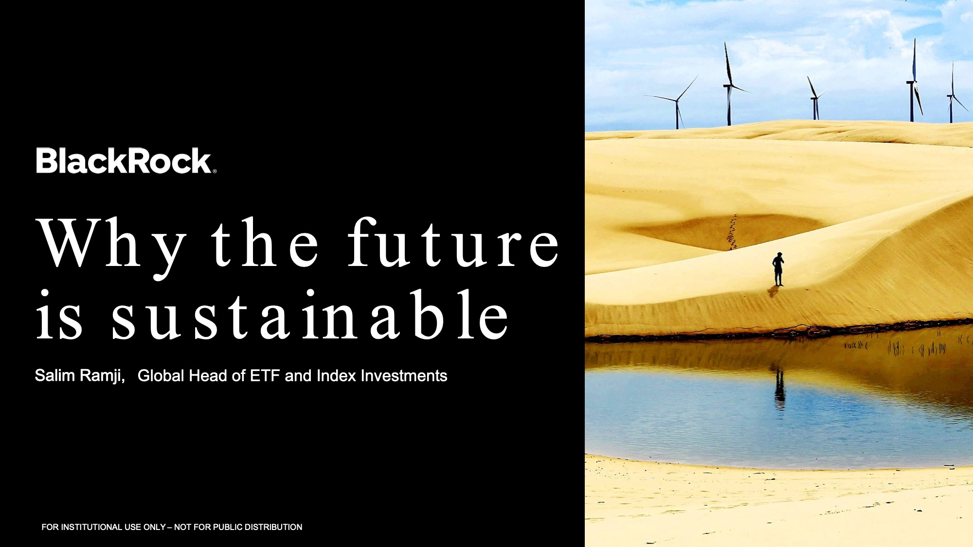 「Why the future is sustainable?」(社会的インパクト投資フォーラム プレゼンテーション資料)